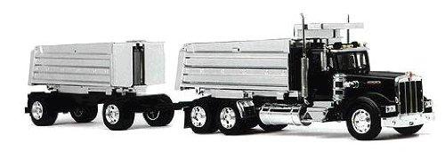 Die-Cast Truck Replica - Kenworth Double Dump Truck 132 Scale Model 11943