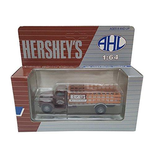 Hartoy AHL Hersheys Milk Chocolate H05070 Ford F-5 Model 164 Scale Diecast Truck Replica
