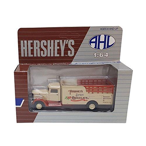 Hartoy AHL Hersheys Sweet Chocolate H03050 Peterbilt 260 164 Scale Tan Diecast Truck Replica