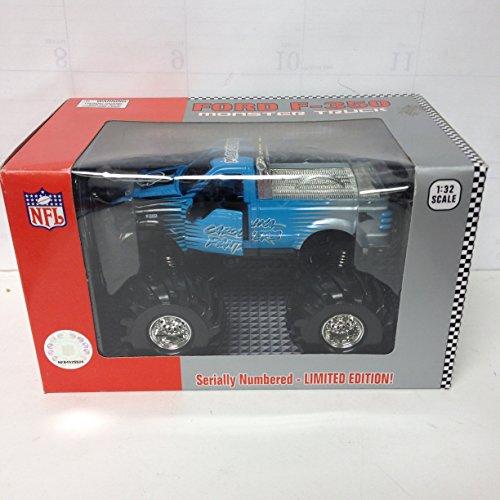 Fleer Diecast NFL Monster Truck 132 Carolina Panthers Toy