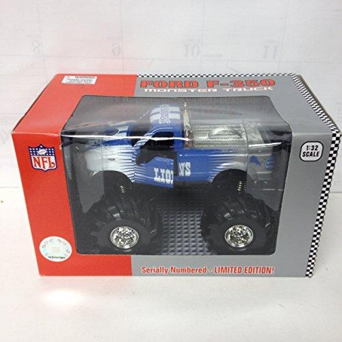 Fleer Diecast NFL Monster Truck 132 Detroit Lions Toy