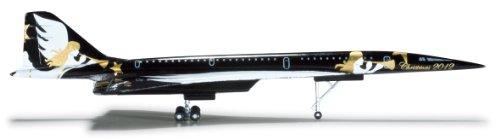 Daron Herpa Christmas TU144 2012 Christmas Model Diecast Aircraft 1500 Scale