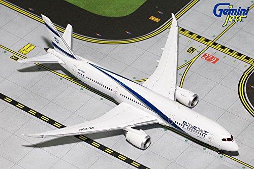 Gemini Jets El AL B787-9 1400 Scale Airplane Model