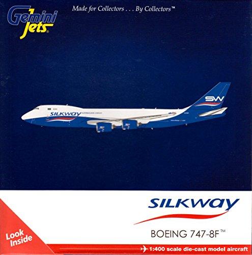Gemini Jets Silkway B747-8F 1400 Scale Airplane