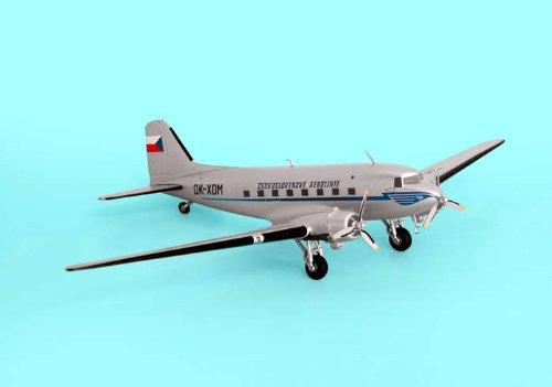 AVIATION200 1-200 Scale Model Aircraft AV2DC3010 CSA Czech Airlines DC-3 OK-XDM Aviation Model 200