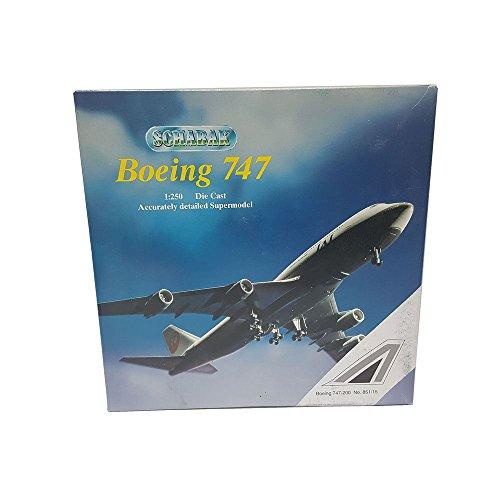Schabak Boeing 747-200 Diecast 1250 Scale Accurately Detailed Supermodel 85115 Alitalia Airplane Replica
