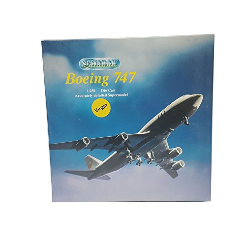 Schabak Boeing 747 Diecast 1250 Scale Accurately Detailed Supermodel 851127 Virgin Atlantic Airplane Replica