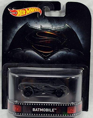 2016 Batman vs Superman Batmobile Retro Entertainment 2016 Hot Wheels Case A