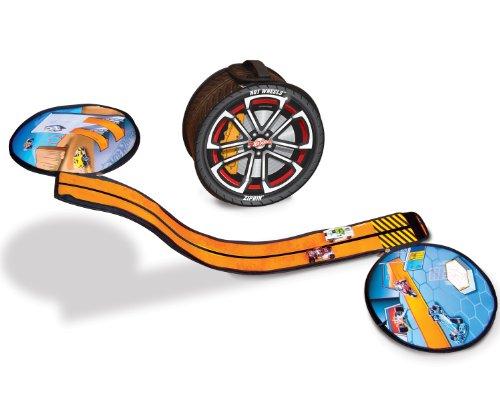 Hot Wheels ZipBin Wheelie 100 Car Case w Car