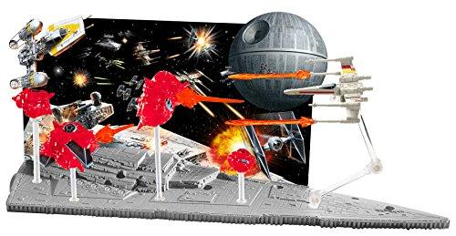 Hot Wheels Star Wars Starship Battle Scenes Play Set