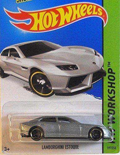 2014 Hot Wheels Hw Workshop Lamborghini Estoque Silver