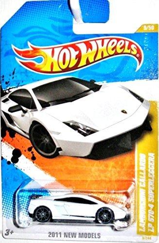 Hot Wheels Lamborghini Gallardo LP 570-4 Superleggera White 2011 9244