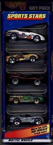 1998 Hot Wheels Car Set - Sports Stars - Gift Pack