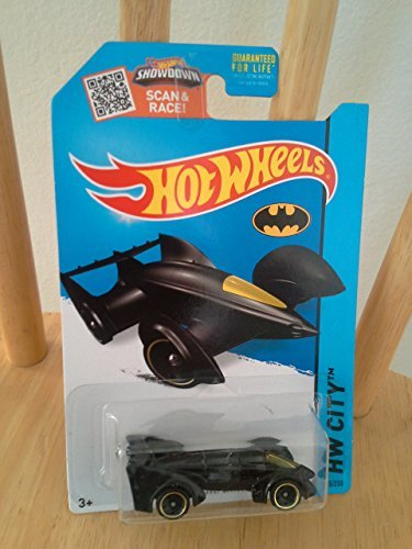 Hot Wheels 2015 HW City Batman Live Batmobile Blue Die-Cast Vehicle 65250