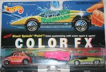 Hot Wheels Color FX Baja Bug and Aeroflash 1993