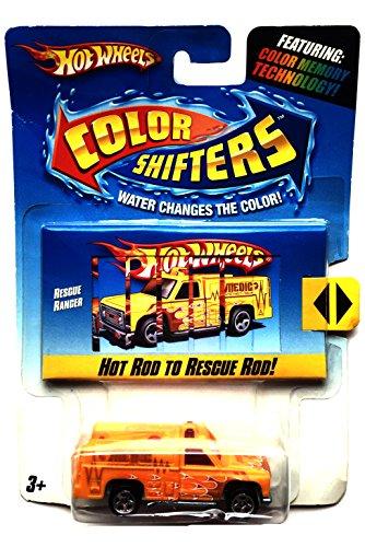 Mattel Wheels - Color Shifters - Rescue Ranger N4437 - 2009