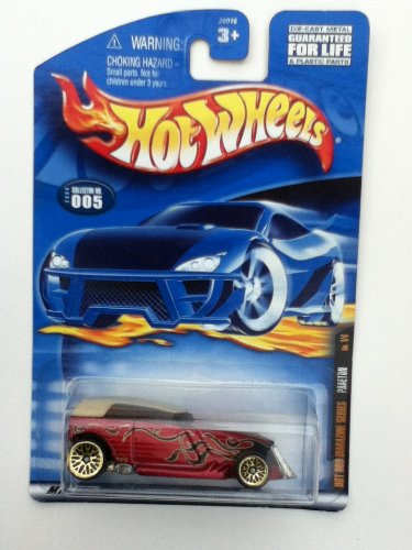 Hot Wheels Hot Rod Magazine Series Phaeton No 14 Side Banner Card 2000 005