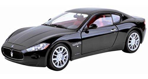 Maserati Gran Turismo Black - Motormax 79151 - 118 Scale Diecast Model Toy Car