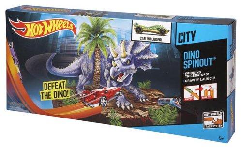Hot Wheels Dino Spinout Trackset