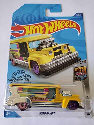 Hot Wheels 2020 Hw Metro Road Bandit 7250 Yellow