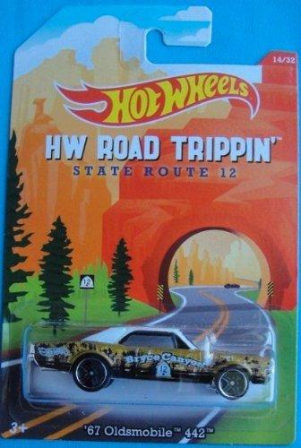 Hot Wheels Road Trippin 67 Oldsmobile 442