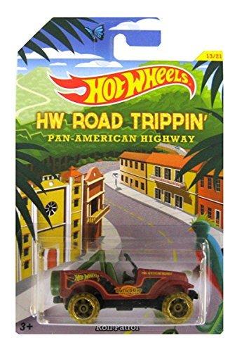 Hot Wheels Road Trippin Series - Pan American Highway - Roll Patrol - 13 of 21 Matt Brown Col by Hot Wheels