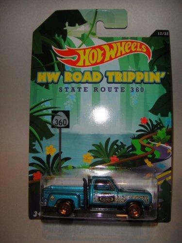 hot wheels road trippin series 1978 dodge red express truck die cast