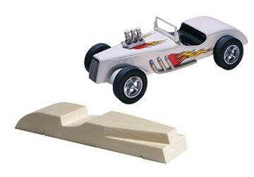 PineCar Derby Racers Pre-Cut Designs Roadster