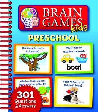 Hachette PUB7518500 Brain Games Kids Preschool