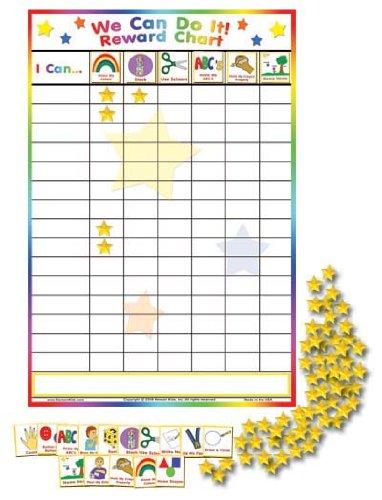 Kenson Kids We Can Do It Preschool Milestones Chart KPS1000