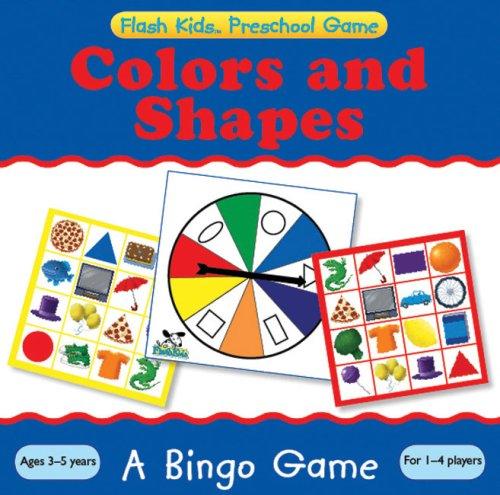 Preschool Games Colors and Shapes Bingo Flash Kids Preschool Games