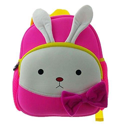 Qrose Preschool Little Kid Backpack Neoprene Animal Rabbit