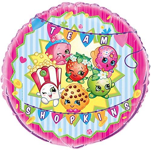 18 Foil Shopkins Balloon