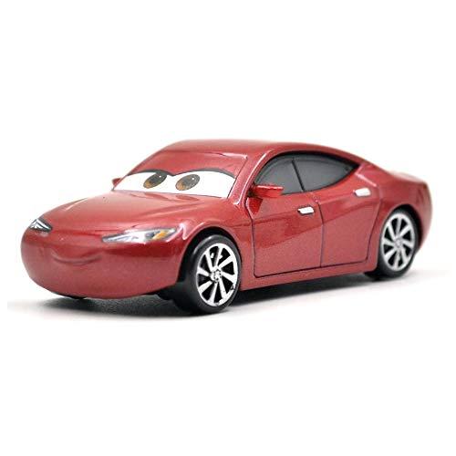 Disney 26 Style Disney Pixar Cars 3 2018 Fabulous Lighting McQueen Cruz Ramirez Metal Alloy Car Model Kid Christmas Toy Gift 01