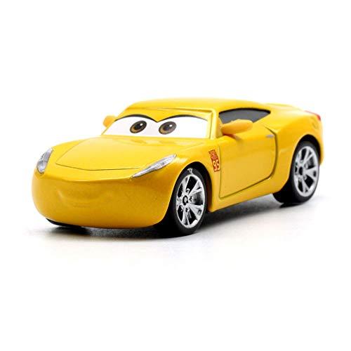 Disney 26 Style Disney Pixar Cars 3 2018 Fabulous Lighting McQueen Cruz Ramirez Metal Alloy Car Model Kid Christmas Toy Gift 14