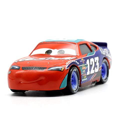 Disney Disney Pixar Cars 2 3 Cal Lighting McQueen Jackson Storm Cruz Ramirea 155 Diecast Metal Alloy Kids Christmas Toys Burgundy