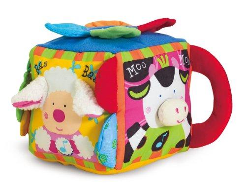 Melissa Doug Ks Kids Musical Farmyard Cube Educational Baby Toy