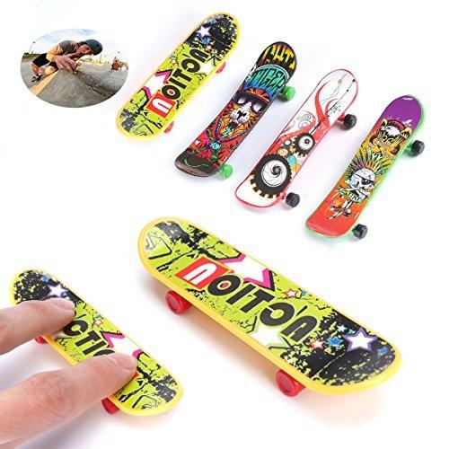 EZI Mini Plastic Tech Deck Toy Skate Finger Board Skateboards Toys Gift  2503854 by EZI