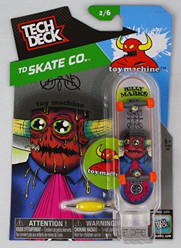 1 TECH DECK 96mm FINGERBOARD - TOY MACHINE BOARD Skate Co 26 - New