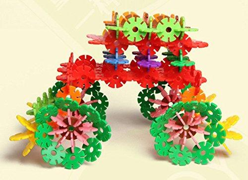 "Pardusâ""¢ Colorful Interlocking Plastic Discs Toy Set Building Blocks Baby Gifts 500 Pieces"