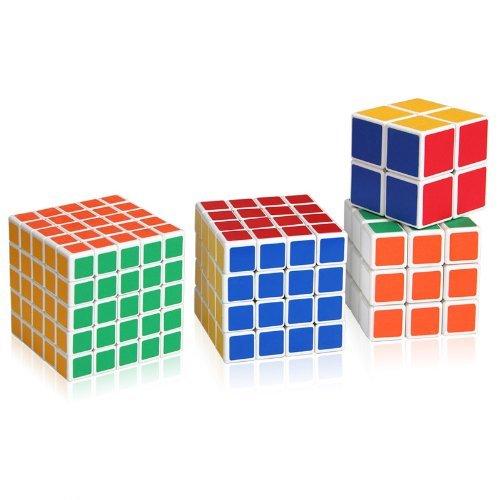 Shengshou Magic Cube Puzzle 5x5x5 4x4x43x3x3 and 2x2x2 Magic Cube Set