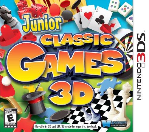 Junior Classic Games 3D - Nintendo 3DS