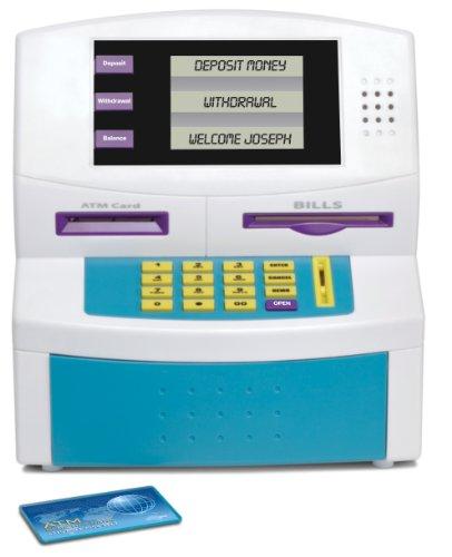 Blue Hat Fun 2 Save Kids Electronic ATM Bank