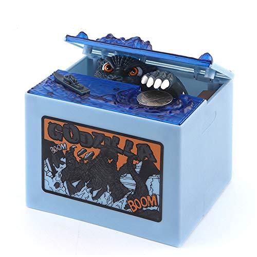 Babook- Electronic Piggy Bank  Godzilla Monster Dinosaur Coin Bank Funny Kids Money Banks for Children