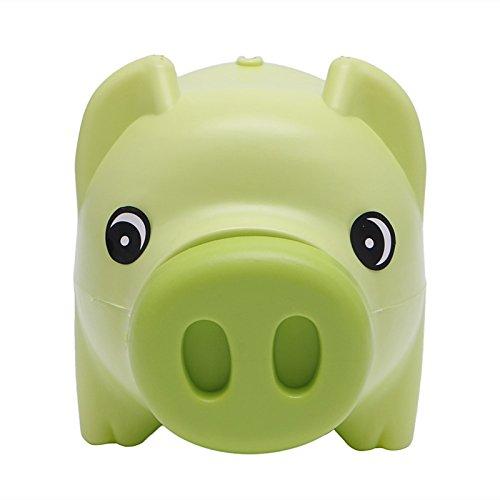 Tangc Plastic Piggy Bank Coin Money Cash Collectible Saving Box Pig Toy Kids Gift