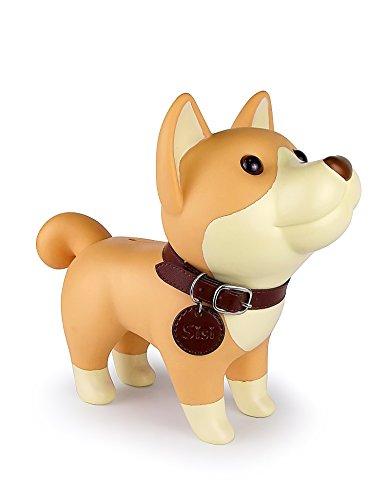 DomeStar Cute Dog Piggy Bank Coin Bank Shiba Inu Best Christmas Gift
