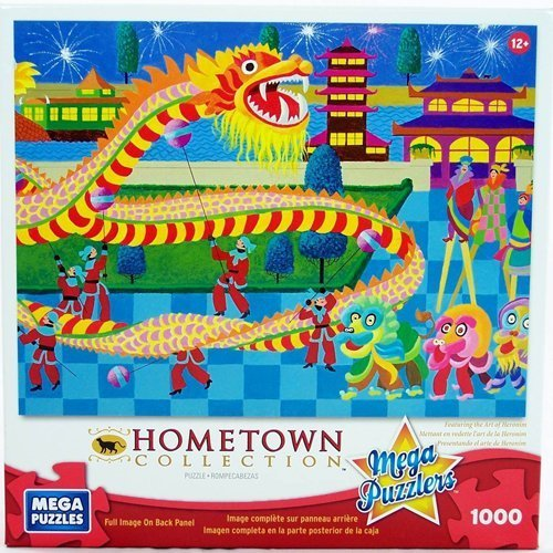 Hometown Collection 1000 Mega Puzzle  Solvang
