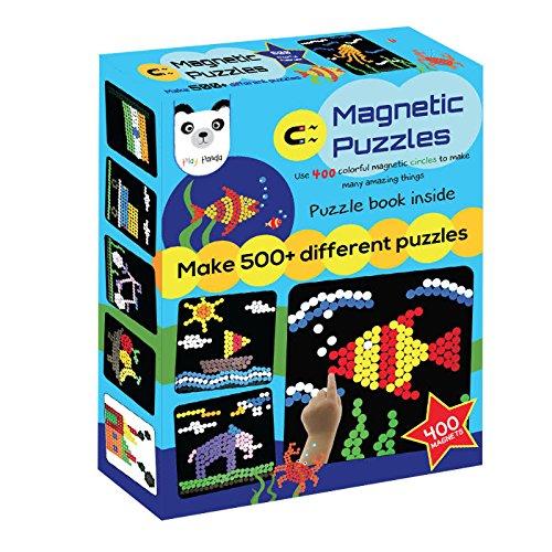 Play Panda Magnetic Puzzles Circles 500 Magnets Medium