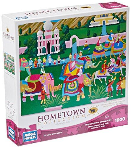 Hometown Elephant Festival Puzzle 1000-Piece