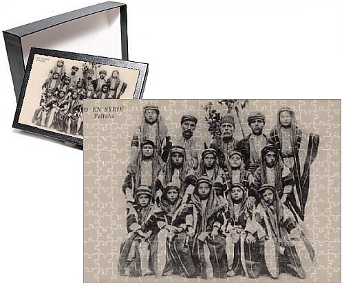 Photo Jigsaw Puzzle of A group of Jolly Good Fellahs - Syria